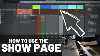 How to Set Up the Show Page in #StudioOne