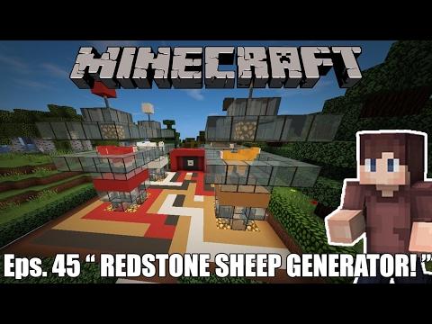 SHEEP COLOR GENERATOR REDSTONE! - Minecraft Survival Indonesia #45