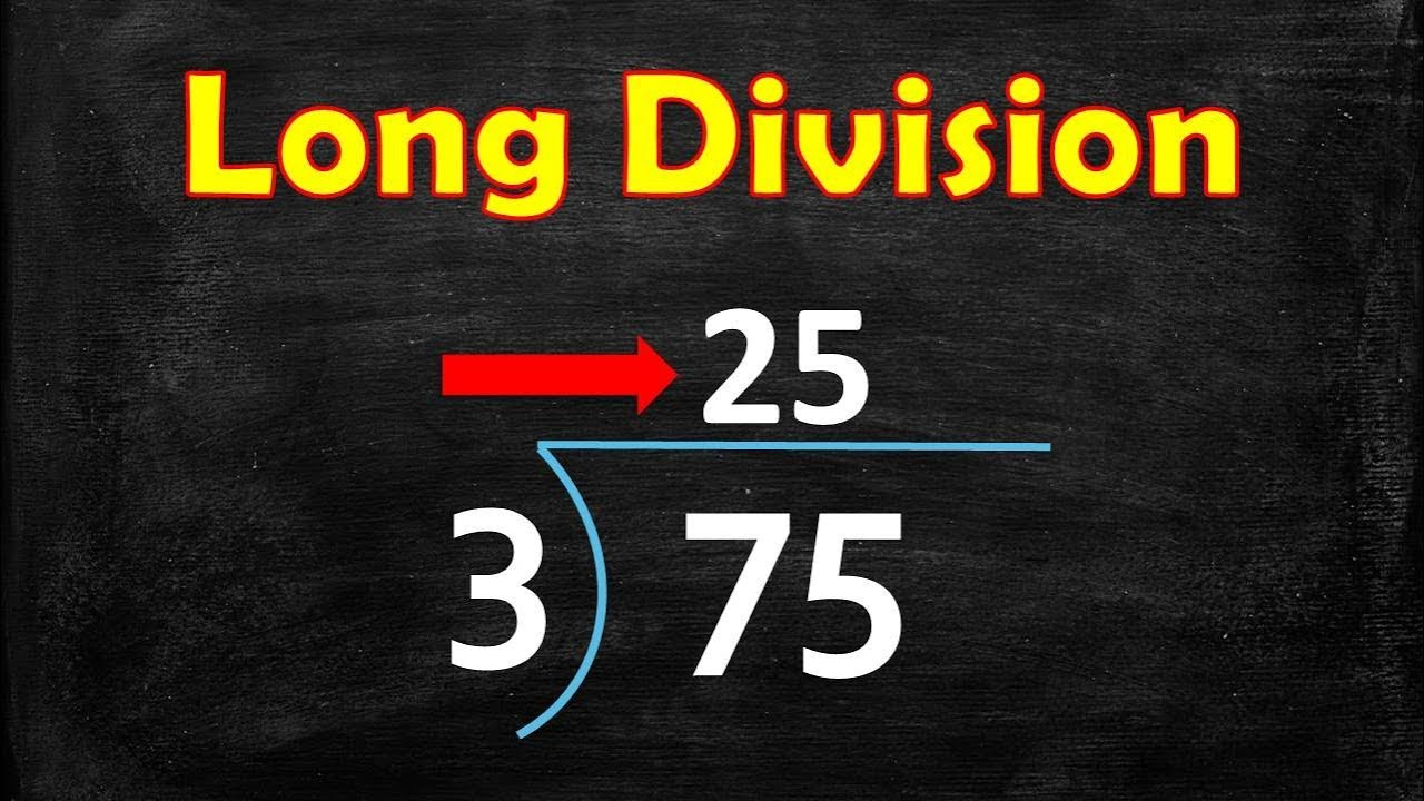 The Long Division Song Long Division Steps Long Division Song