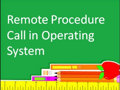 Programming Interview: Remote Procedure Call in Operating System