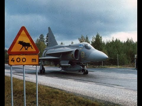 Bas 90 - Air Base System 90, Swedish Air Force (1986) [english subtitles available]