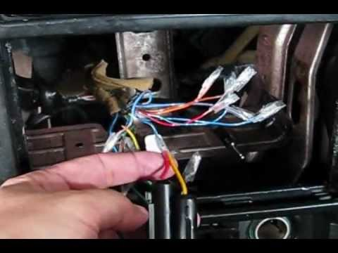 hqdefault boss 612ua mazda 626 audio install guide youtube 1999 mazda 626 radio wiring diagram at fashall.co