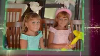 День Рождения Лизачки и Сонечки фото клип