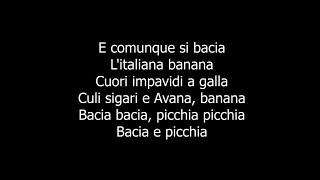 Francesco Gabbani - Il Sudore Ci Appiccica TESTO