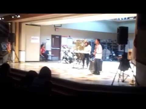 Andrea Lopez playing live @ Diamond Valley Middle School on 05-31-12