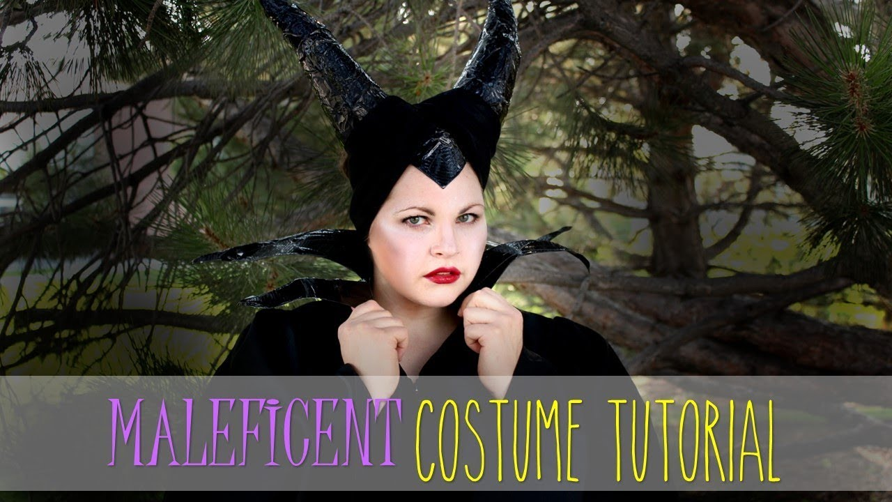Maleficent Costume Easy Cheap Diy