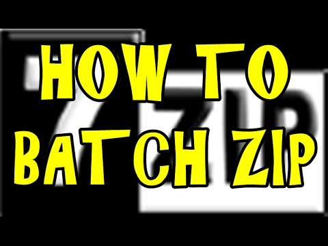 how to turn a folder into a zip file