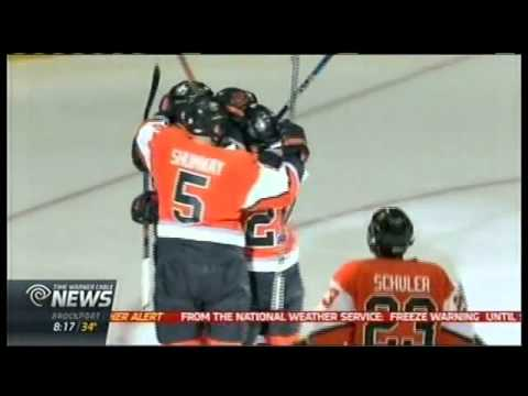 RIT on TV: Homecoming Hockey game - Tigers hold Bowling Green to tie - on TWC