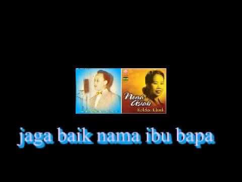 Oh Juwita / Chinta Sama Chinta .. Jasni Dan Nona Asiah ( Lirik ).