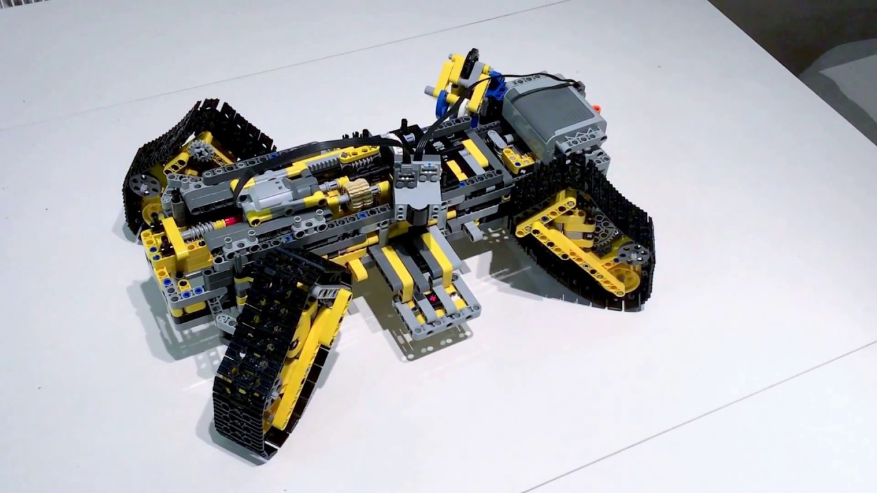 Starcraft 2 Siege Tank From Lego Youtube