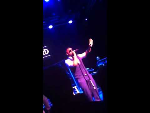 Musiq Soulchild WHO KNOWS live @ Howard Theater DC