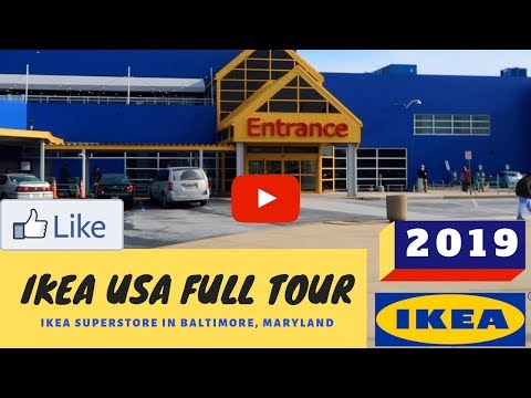 IKEA USA Full Tour 2019    Shop With Me At IKEA    Best Documentary Tour