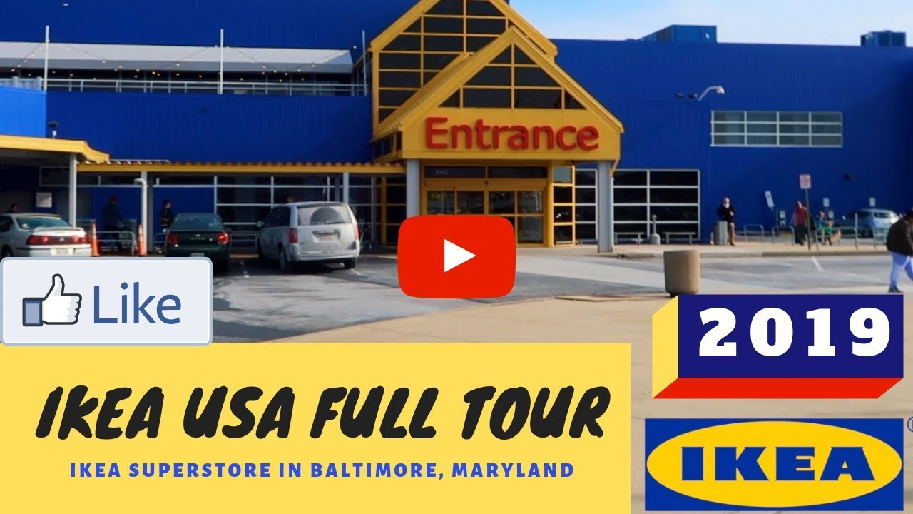 Ikea Frisco Ikea Usa Full Tour 2019 Ikea Superstore In Baltimore Maryland Nri Mom Vlogger Documentary