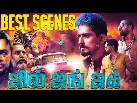 Jil Jung Juk - Best Scenes Compilation   Siddharth, Avinash Raghudevan, Sananth Reddy