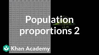 Comparing Population Proportions 2