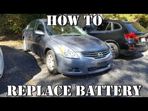How To Replace Battery Nissan Altima 2007 2017