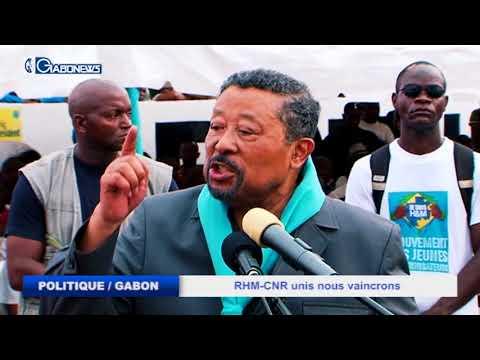 POLITIQUE / GABON : RHM-CNR UNIS NOUS VAINCRONS - JEAN PING