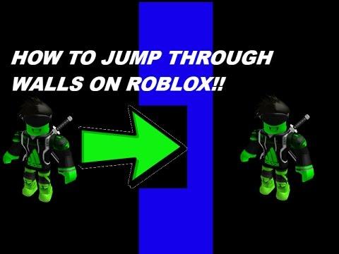 roblox glitch through walls hack