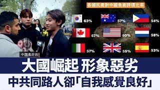 跨國民調:民主國家民眾普遍對中國「印象差」|新唐人亞太電視|20191008