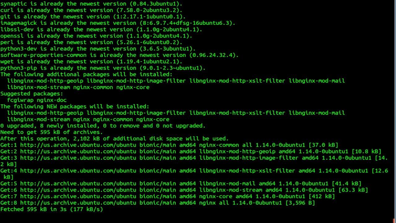 install angular ubuntu 18