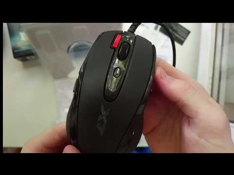 Мышь A4Tech X-710BК USB Black (4711421757874)
