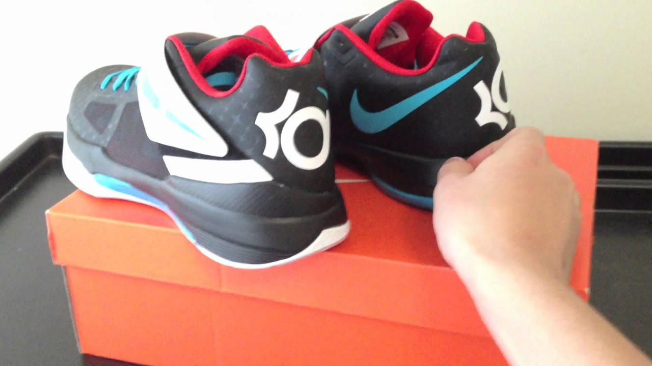 the latest a1bfa 7bb71 Nike Zoom KD IV 4 N7 Black   White Colourway Pack Review + On Feet