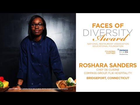 "Bridgeport native Roshara Sanders, a former ""Chopped"" winner, continues to give back to the community."