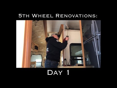 5th Wheel Renovations: Day 1 | The Serenplicity Life