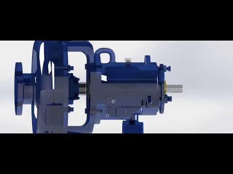 Will Pump (Bomba Centrifuga Horizontal ANSI DPUMPS)