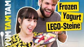 FROZEN YOGURT LEGO-STEINE // The LEGO Movie 2 // #yumtamtam - UdPP