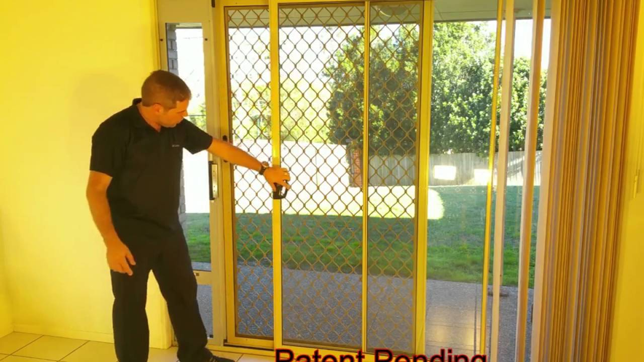 best way to lock your patio pet door patiolocktm system