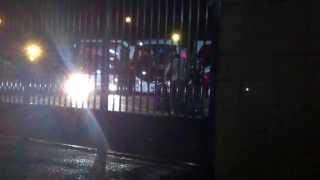 WWE Live Tour Roman Reigns Leaving Belfast 6 November 2013