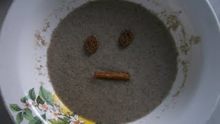 Грибной крем-суп с сухариками