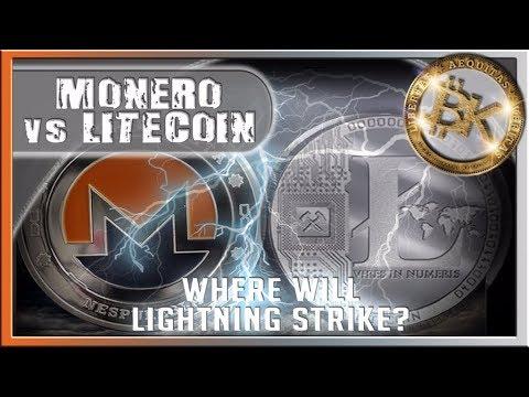 ⚡ MONERO vs LITECOIN⚡ Crypto Trading BTC Profit LTC Explained Charlie Lee Free Bitcoin Giveaway HOA