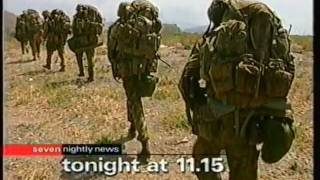 Australian Troops land East Timor (1999)