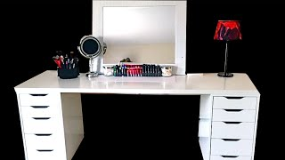 Makeup Collection + Storage (ikea)