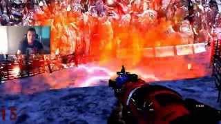 Custom Map Zombie #55 : Bienvenue dans le monde des Yeti + sous sol de la carte Five !!!