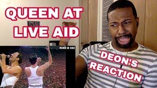 QUEEN REACTION: Deon's First Time Watching Queen at Live Aid