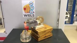 Stirling Motor HTL-Wels