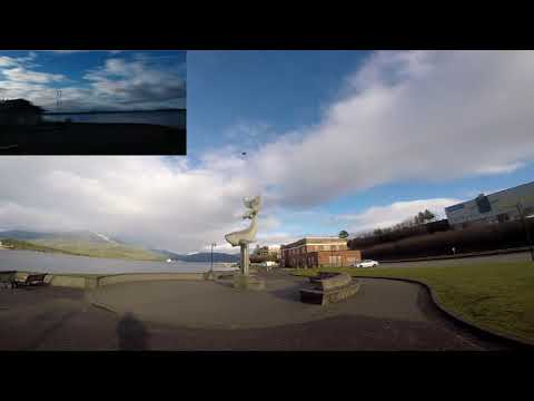 drone prince rupert waterfront test