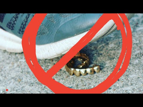 Top tips on how to take care of your gold teeth gold Grillz so clean They look fake part 5