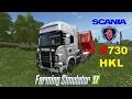 FS | 17 | Mods SCANIA R730 HKL