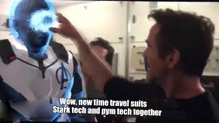 Tony Stark Analyzing Time Travel Suit Deleted Scene Avengers Endgame Explained Breakdown
