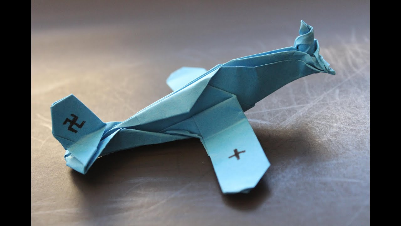 How to make a cool paper plane origami: instruction| Messerschmitt ...