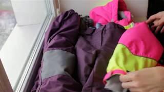 Детская верхняя одежда #OLDOS ACTIVE. #ВидеоОбзор зимнего комбинезона, куртки и брюк.
