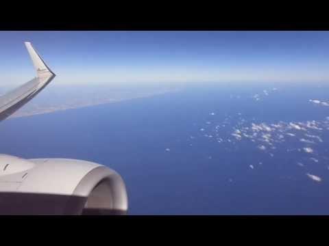 Miami-New York (LGA) flight: Takeoff, Fort Lauderdale, Statue of Liberty, Manhattan 2014-02-16