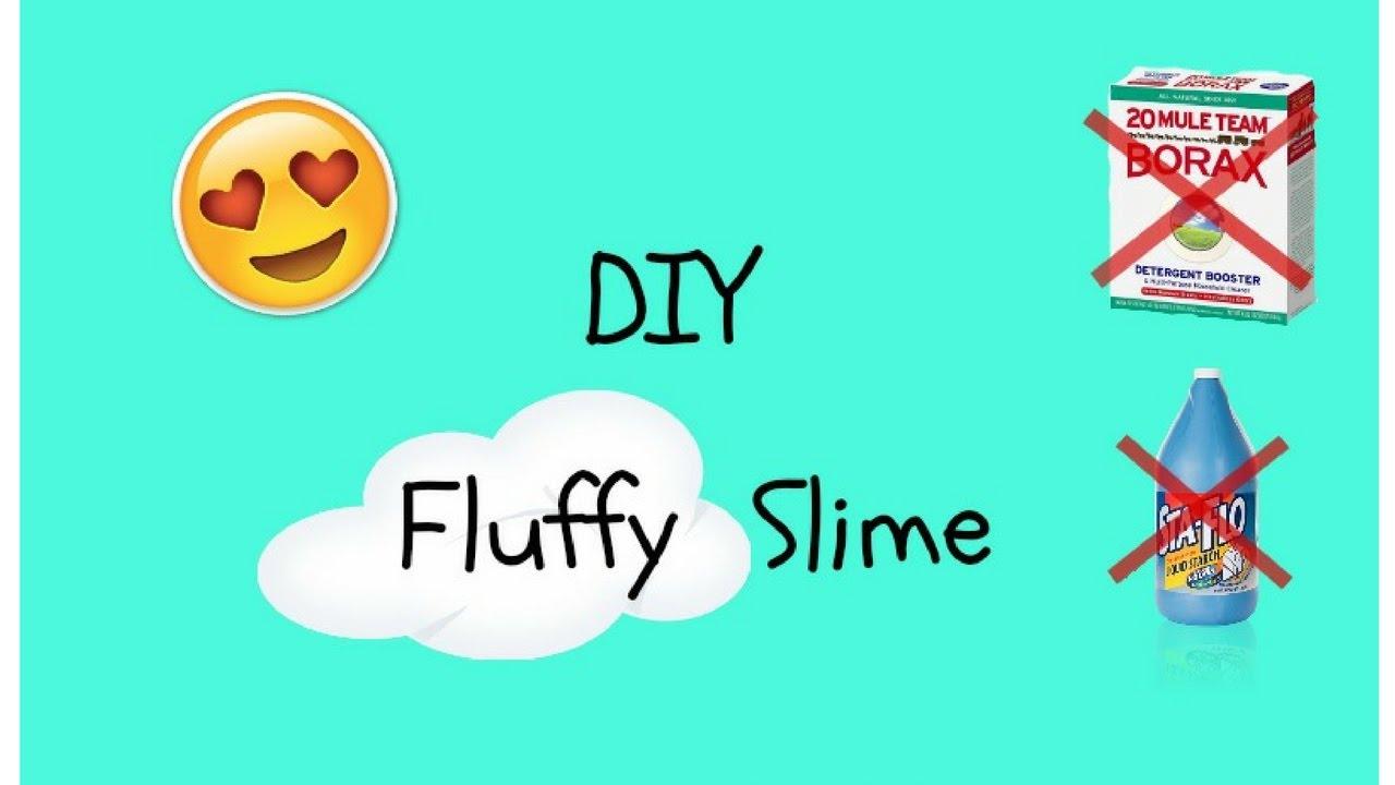 How To Make Fluffy Slime!!(no Borax) Testing Karina Garcia