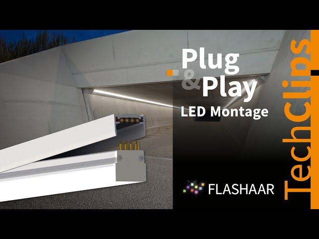 FLASHAAR® - über 100m lange LED-Lichtlinien mit dem NauticProfil® Plug&Play Montageprinzip