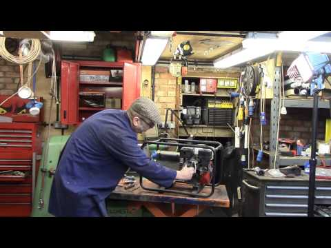 check and adjust Honda GX160 valve clearances