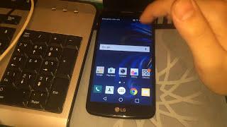 Quitar protección gmail google de LG k4 k5 k8 k10 metodo 2017